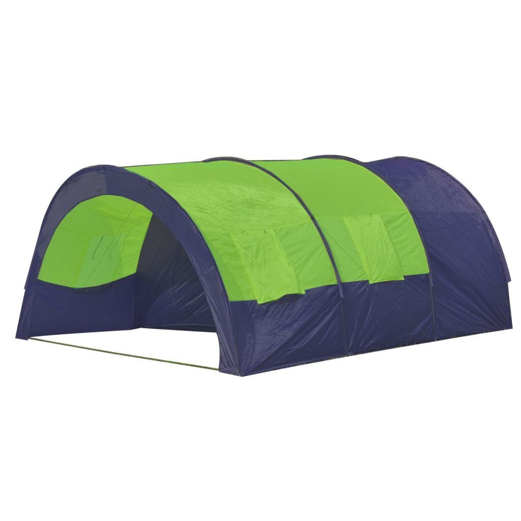 putovanja i na odmoru u kampu. Ovaj šator je dovoljno velik za smještaj do 6 osoba. Šator je lak za izgraditi i treba vam samo nekoliko minuta za rastav za skladištenje. Materija unutarnjeg zida je prozračan. Kat ima film vodootporne PE koje će osigurati vam suh i čist boravak. Da biste dobili 100% vodonepropusne šatore