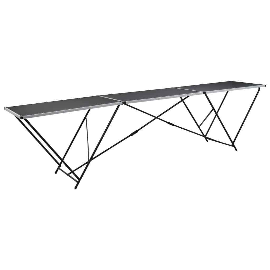 Ovaj sklopivi stol za lijepljenje ima praktično označene mjere i idealan je za širok raspon upotrebe poput lijepljenja tapeta