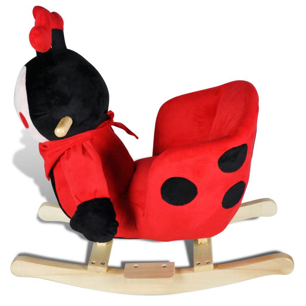 plišana ljuljačka bit će sigurno omiljena igračka vaših mališana. Vaša dječica će uživati u satima jahanja na ovoj prekrasnoj ljuljački.Sjedalo ove igračke je dobro tapecirano za optimalnu udobnost. Meko plišano tijelo je idealno za maženje. Pogodno za dob od 12 mjeseci i više(s nadzorom odrasle osobe).