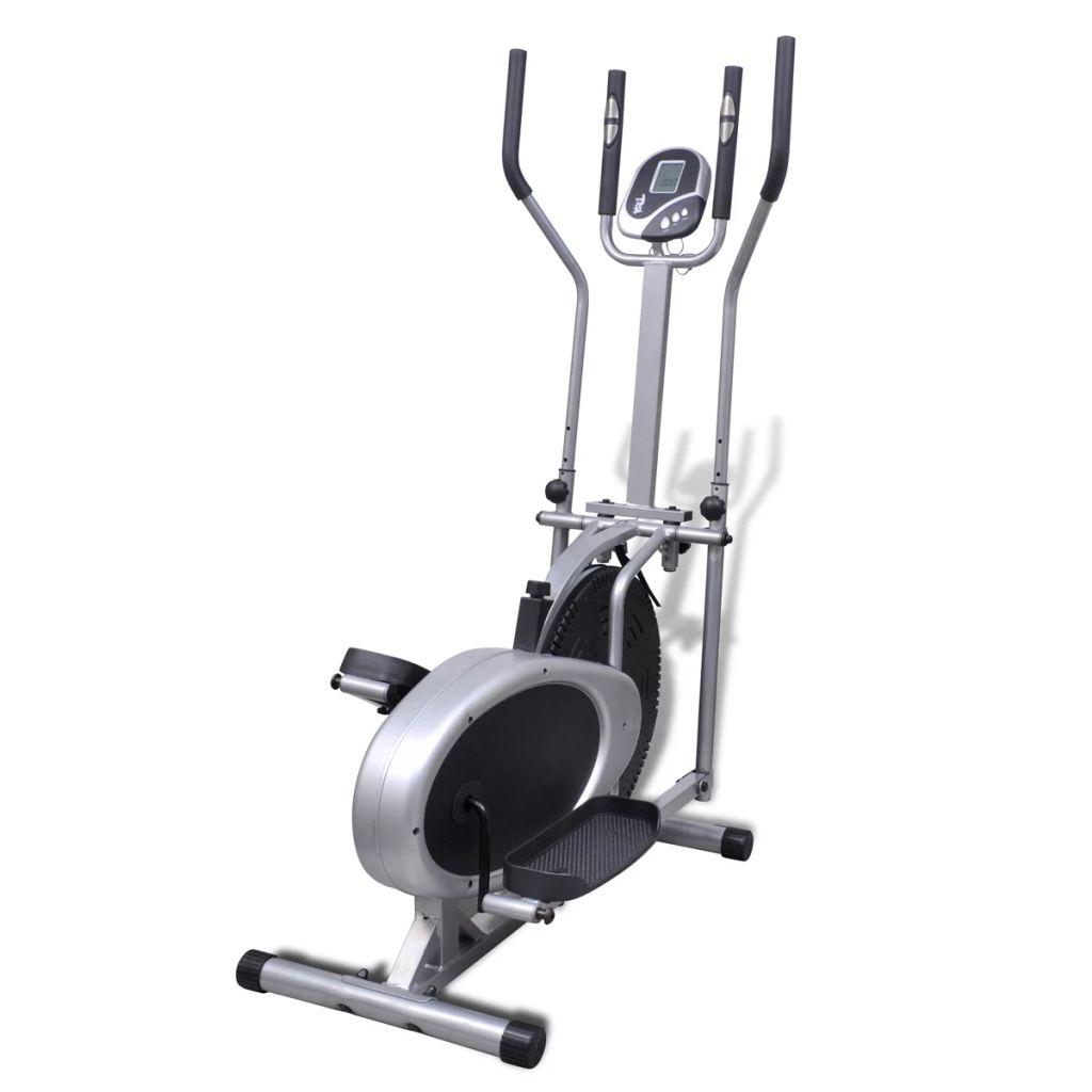 potrošene kalorije i puls.Orbitrak je ergonomski dizajniran. Visina ručkica podesiva na 4 razine pruža vam dovoljno opsega