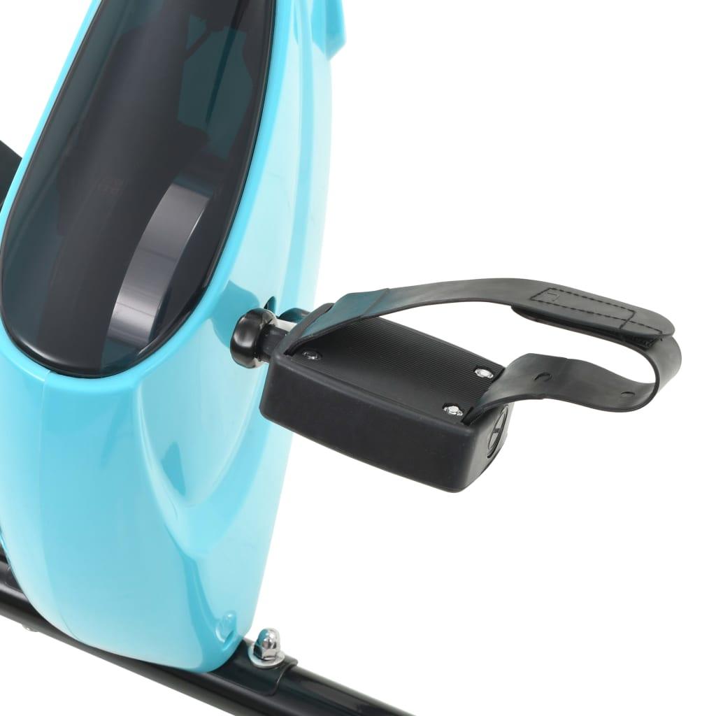 ovaj fitness bicikl ima maksimalno opterećenje od 100 kg. Protuklizne pedale sprave s podesivim trakama pružaju udobnost i sigurnost. Zahvaljujući svom sklapajućem dizajnu