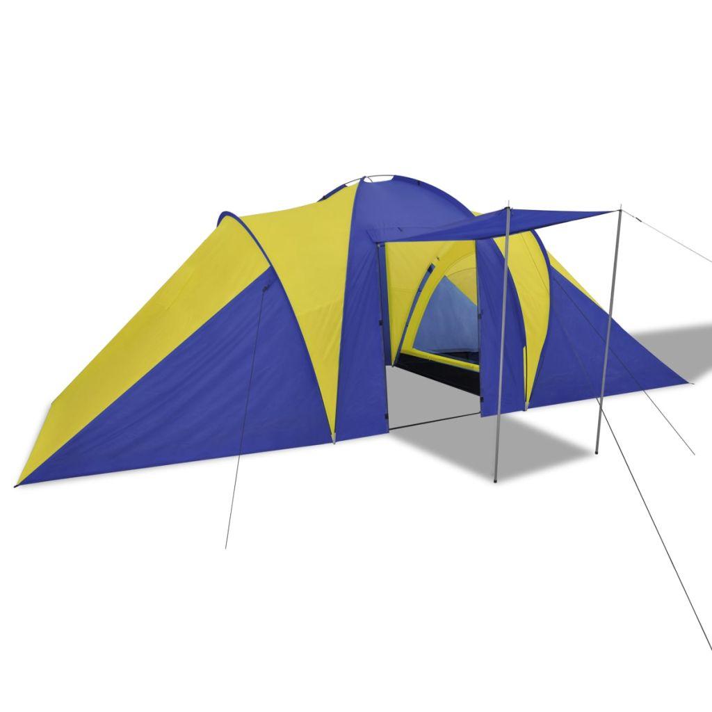 kad ste na putovanje ili na odmoru u kamp. Šator nudi dovoljno prostora za smještaj 6 osoba. Ima 2 različitog odjeljka