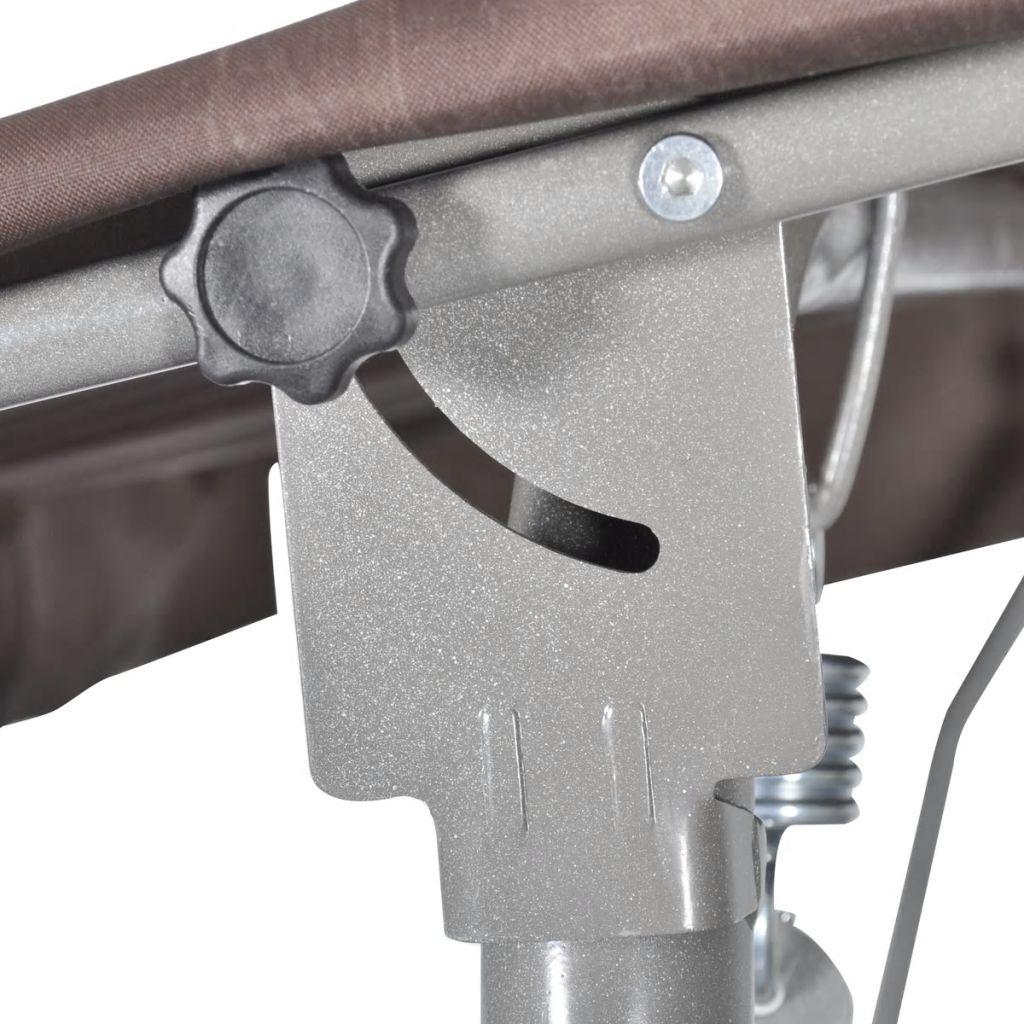 dvorištu ili balkonu. Čelični okviri obloženi prahom pružaju super stabilnost i osiguravaju dugi vijek trajanja i izvrsnu izdržljivost. Meki jastuci za sjedalo i leđa