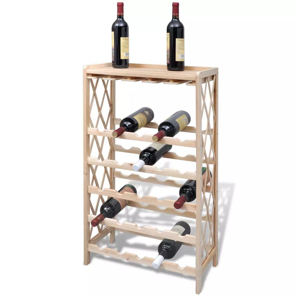 Ovaj stalak za vino je savršen izbor za ljubitelje vina