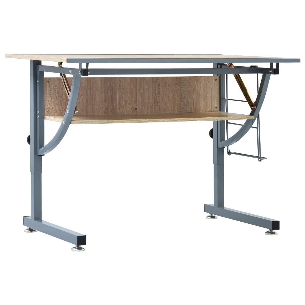 uredu ili u studiju. Kvalitetna površina i robusna konstrukcija otporna na hrđu čine ovaj stol idealnim odabirom za Vaš prostor. Zahvaljujući praktičnom sustavu podešavanja