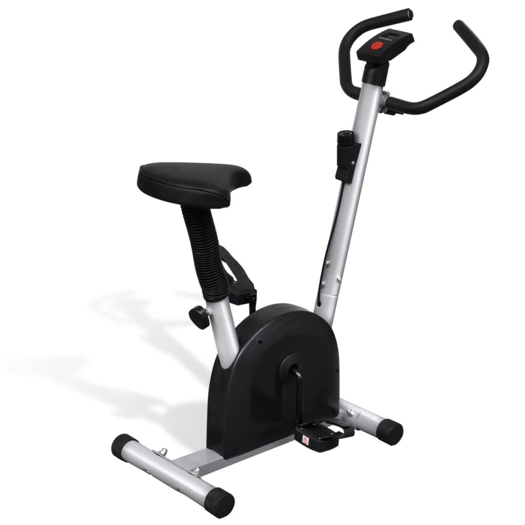 Ovaj kompaktni i otporni sobni bicikl je savršen za vježbanje kod kuće. LCD zaslon će vam pružiti sve relevantne informacije