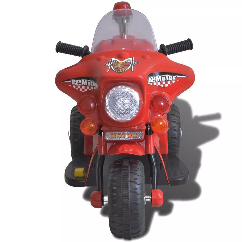 to će biti veoma uzbudljiva igračka za vašu djecu. Pokreće ga 6 V punjiva baterija a brzina je 3 km / h što ga čini potpuno sigurnim za djecu. Vaša djeca mogu zaustaviti motocikl jednostavnim uklanjanjem nogu s pedala. Dizajn s tri kotača je vrlo stabilan