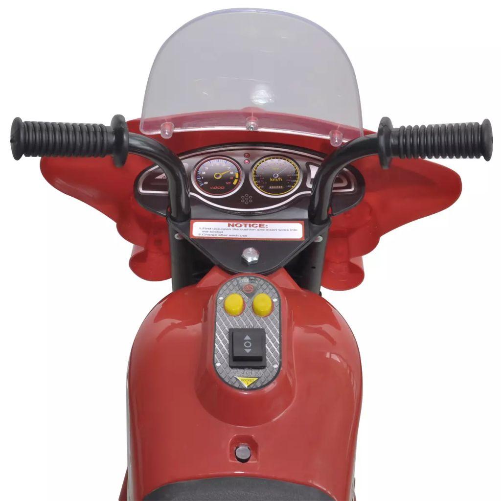 tako da motocikl neće padati. Prednja svjetla i elektronski zvuk