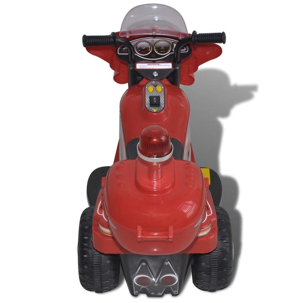 ovaj motocikl kojim je lako upravljati ima nosivost do 25 kg. Zakrivljeni dizajn sjedala ga čini vrlo udobnim. Preporučuje se korištenje vozila na privatnim posjedima i samo uz dozvolu vlasnika. U suprotnom bi moglo doći do nesreća i/ili ozbiljnih ozljeda.