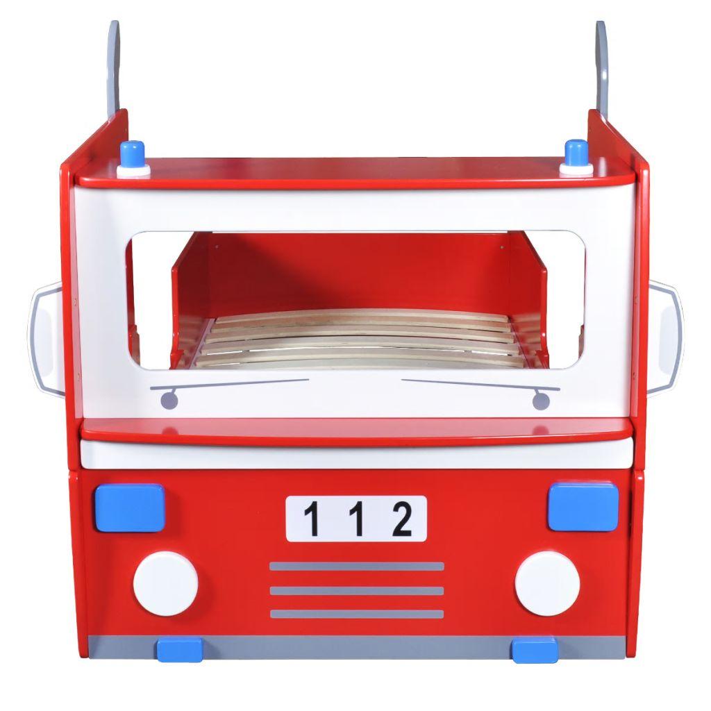 1 cm dodatne pjene i poliesterskog dna.Krevet je jednostavan za montiranje uz pomoć alata uključenih u isporuku. Toliko jednostavan da ćete pitati i mališana da Vam pomogne!Napomena: Zbog higijenskih standarda