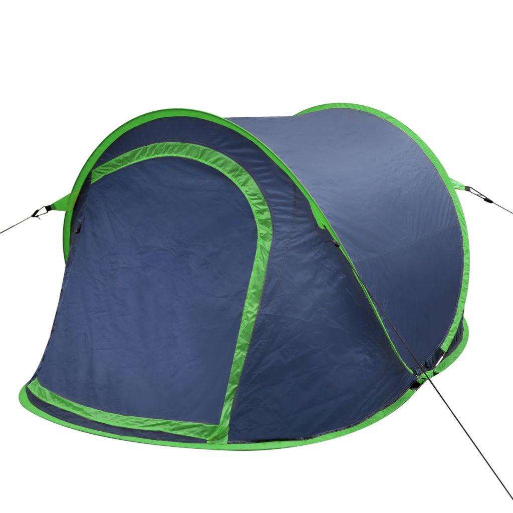 Ovaj šator bit će odličan izbor za one kratke odlaske na kampiranje ili festivale! Ima prostranu unutrašnjost koja može smjestiti 2 odrasle osobe. Šator se lako postavlja i rastavlja. Može se podići za nekoliko minuta