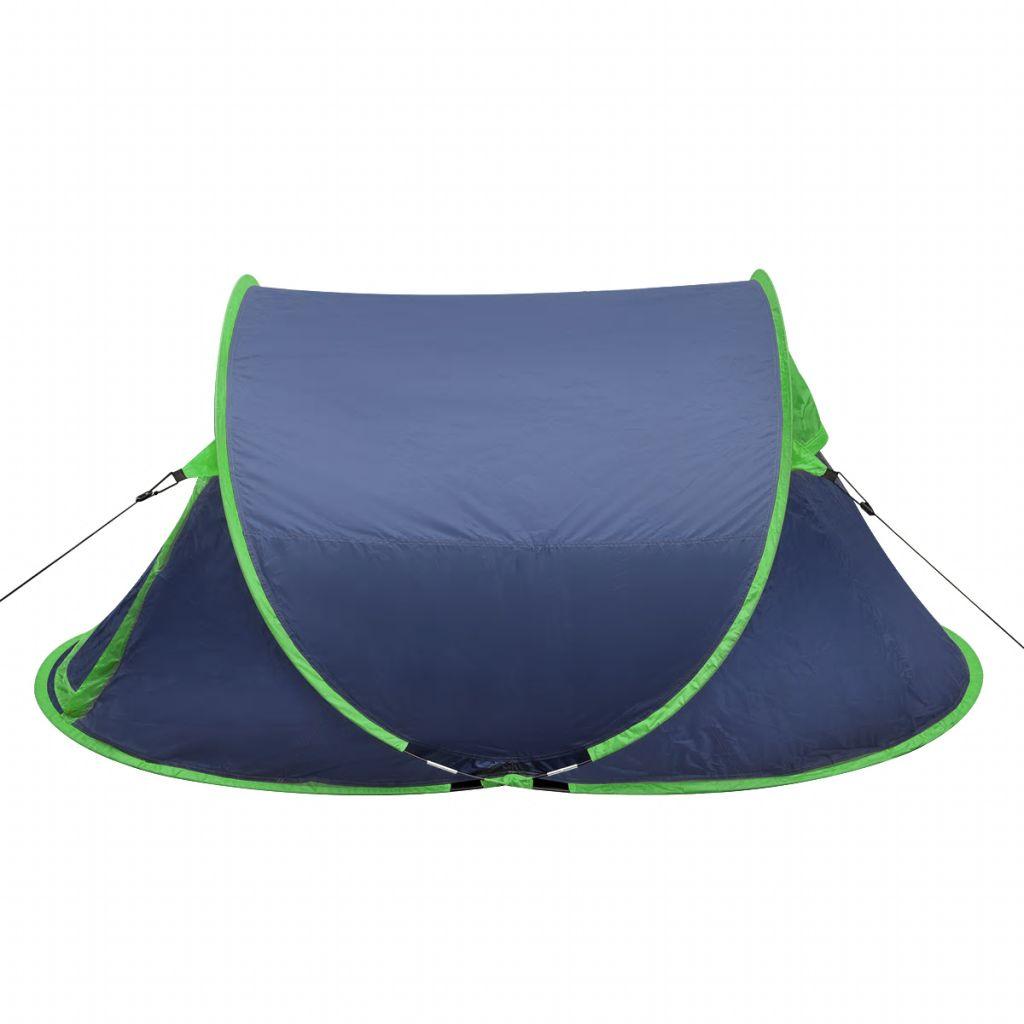a onda se samo trebate zavaliti i opustiti. Snažne šipke drže šator i oblikuju udoban unutarnji odjeljak. Na ulazu se nalazi mreža protiv komaraca. Poliesterska cerada i pod od PE-a osiguravaju da unutrašnjost ostane suha i čista. Ovaj šator za kampiranje za 2 osobe može se uredno spakirati u torbu za nošenje radi lakšeg transporta. Napomena: U ovom šatoru mogu spavati dvije osobe