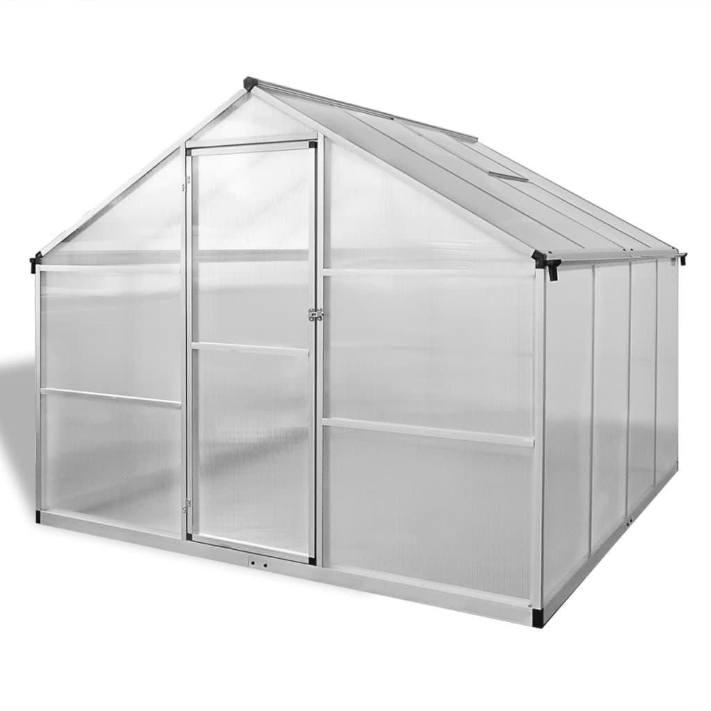 05 m². Može ugostiti znatan broj biljaka i bit će izvrsno rješenje za zaštitu vaših biljaka od hladnog vremena. Izrađen od dvostrukih zidnih polikarbonatnih ploča