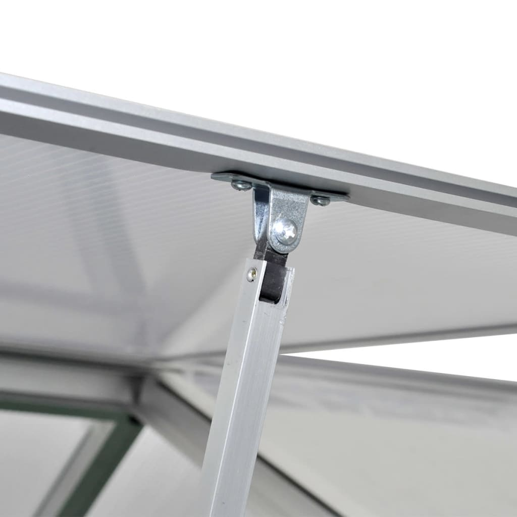 montaža je jednostavna. Imajte na umu da krov našeg staklenika ne podnosi teški snijeg.