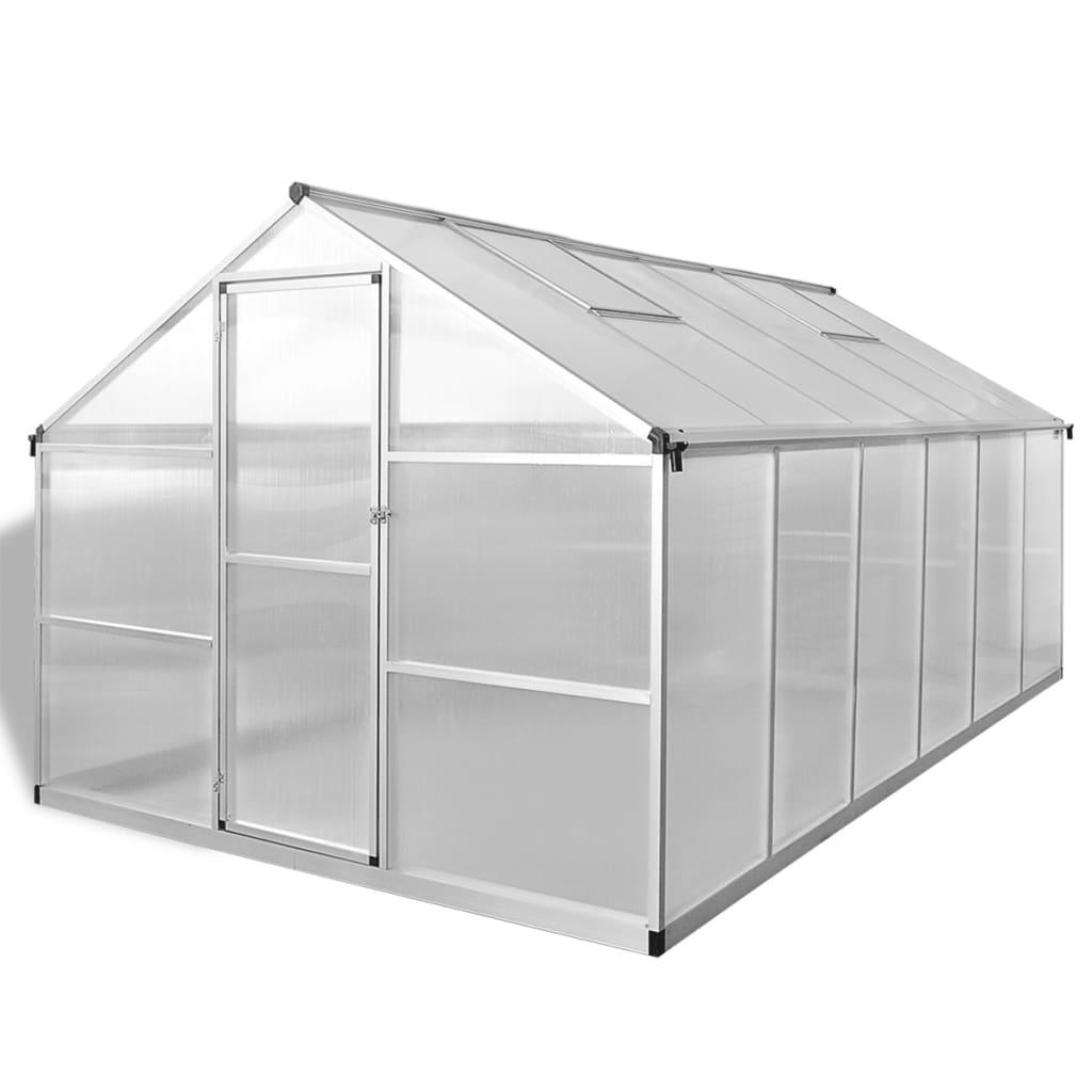 025 m². Može ugostiti znatan broj biljaka i bit će izvrsno rješenje za zaštitu vaših biljaka od hladnog vremena. Izrađen od dvostrukih zidnih polikarbonatnih ploča