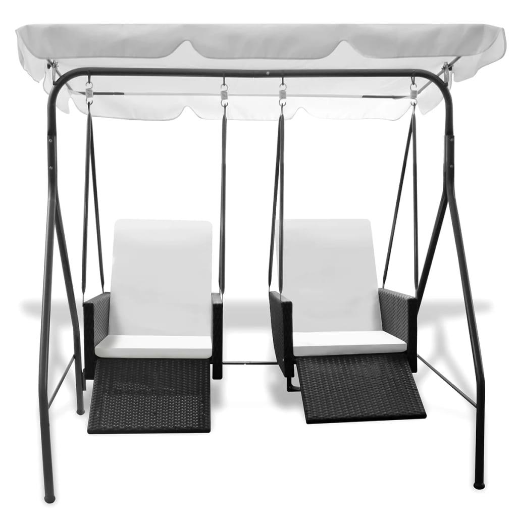 a vi ćete uživati u ljuljanju na ratanskoj stolici uz blagi povjetarac. Zahvaljujući pneumatskom mehanizmu