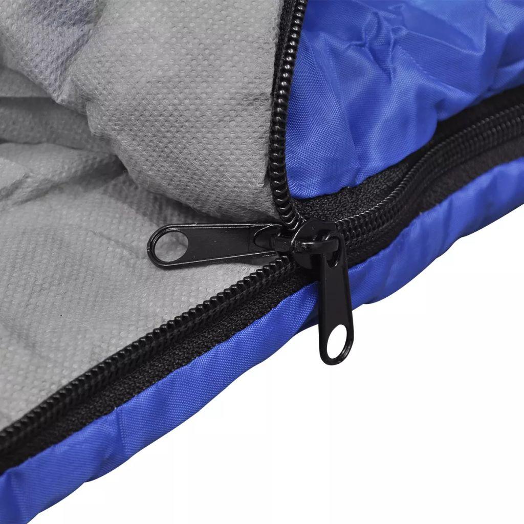 ove vreće za spavanje lakše su i izdržljivije. Opremljene su bočnim patentnim zatvaračem koji se može potpuno otvoriti