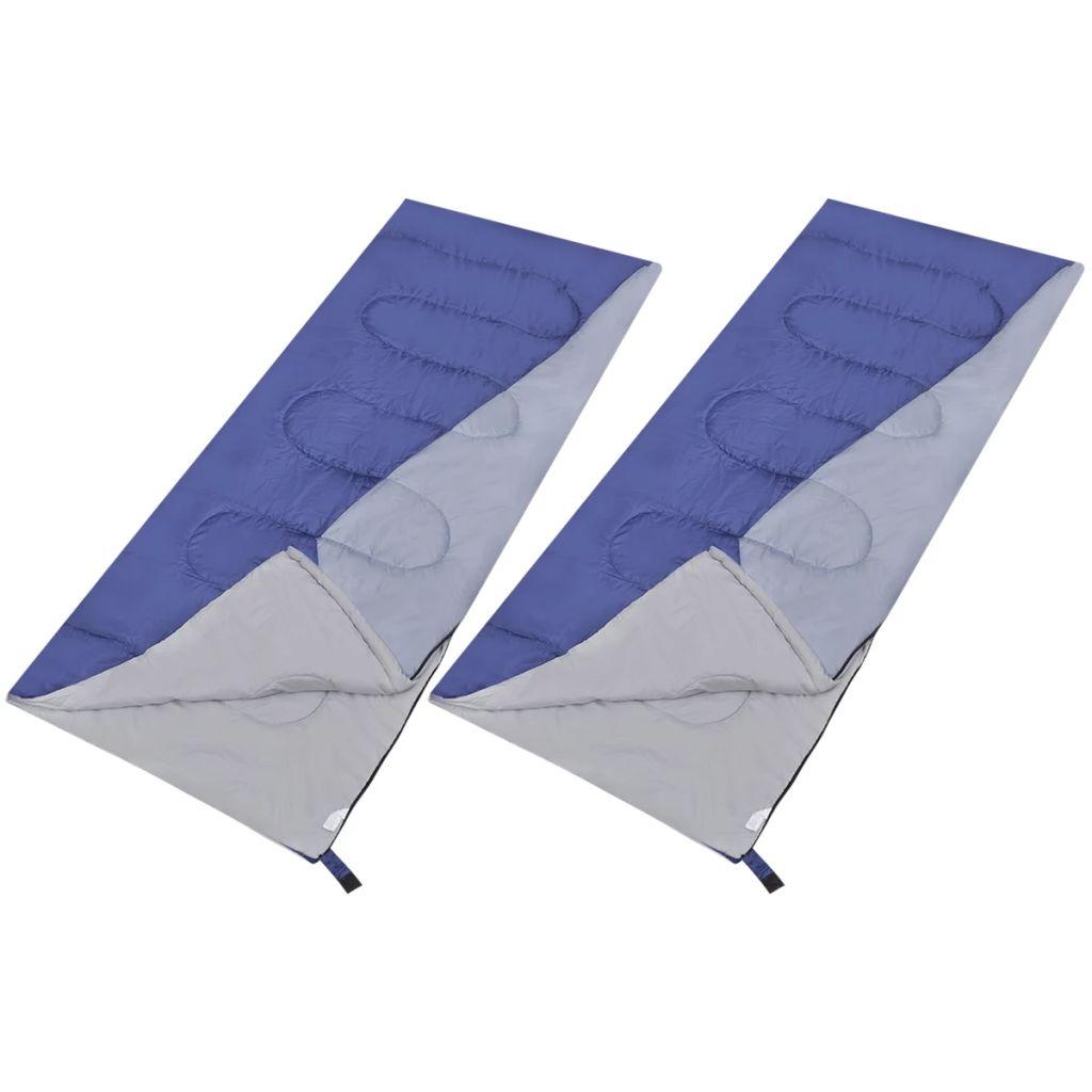 Ove iznimno velike lagane pravokutne vreće za spavanje pružit će Vam udobno spavanje prilikom kampiranja ili drugih prilika. Zahvaljujući izuzetnoj izradi
