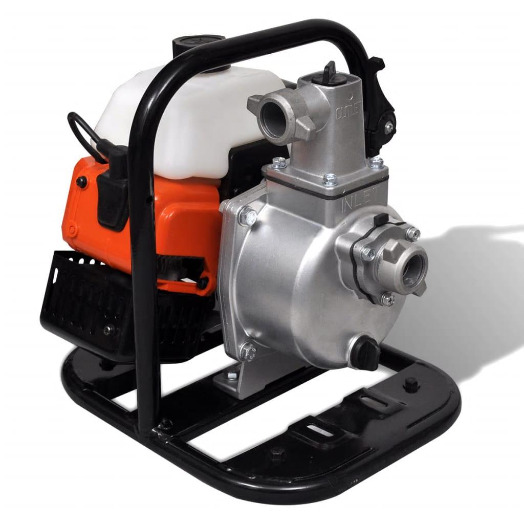Ova snažna vodena pumpa je odlični odabir za opskrbu vodom ili isušivanje bazena i navodnjavanje. Naša vodena pumpa ima radnu snagu od 1