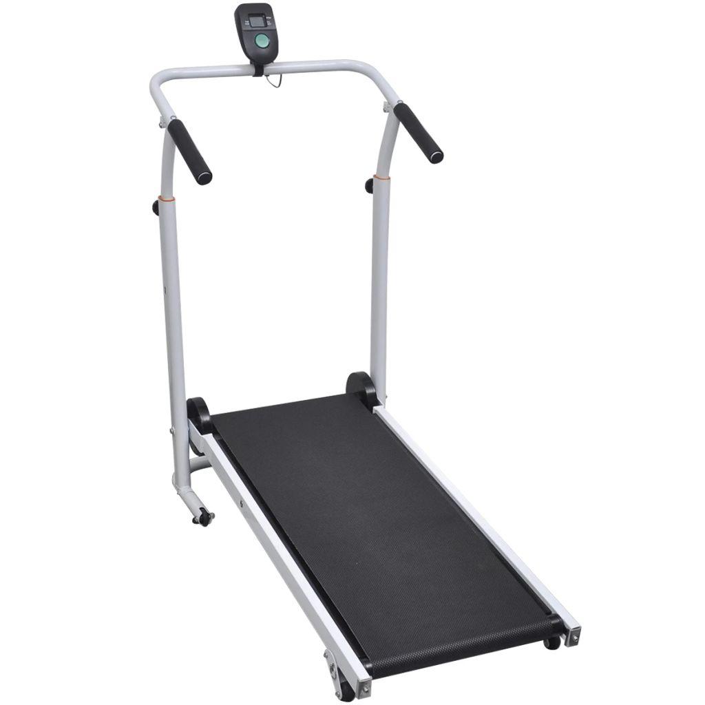 omogućava vam vježbanje u vašem domu kad god to poželite. Traka za trčanje ima površinu za trčanje 93 x 36 cm. Remen se pokreće hodanjem prema naprijed. Što brže hodate