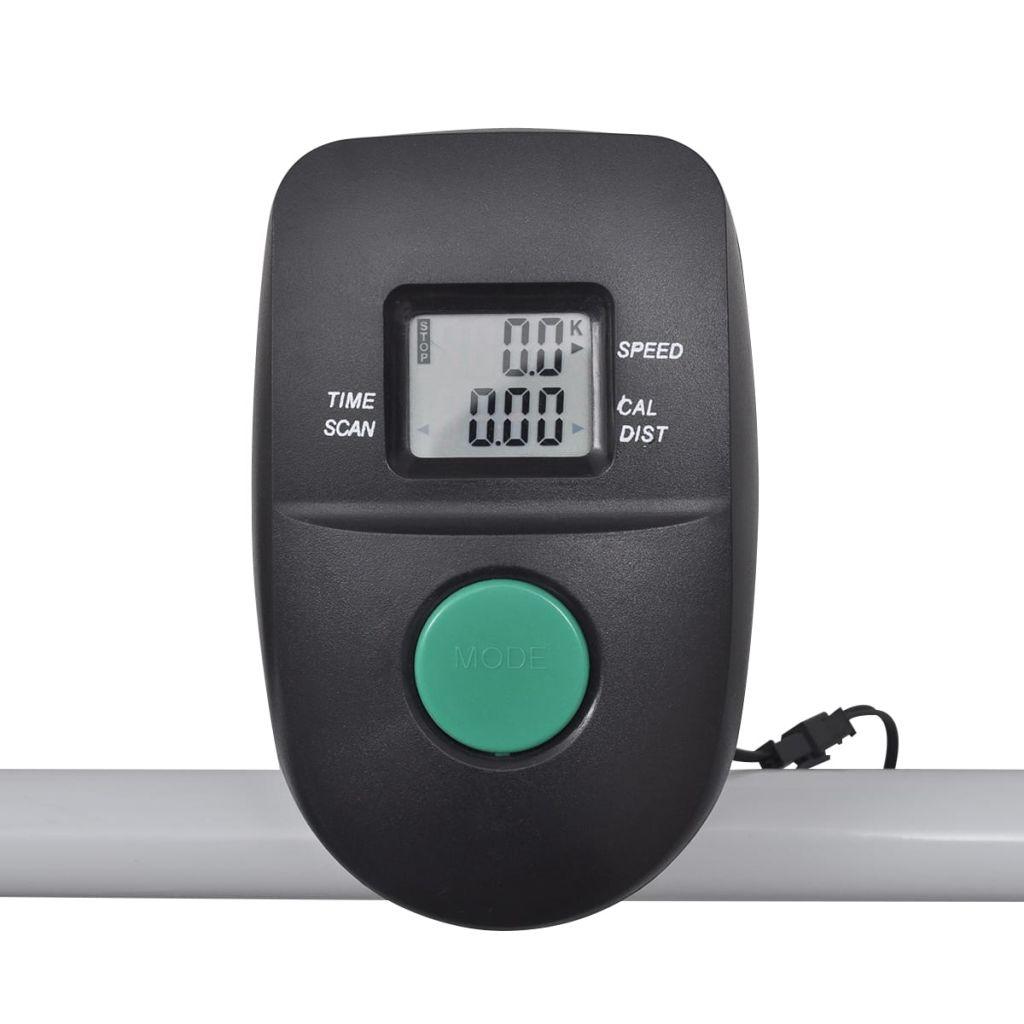 uključeni monitor prati vašu brzinu