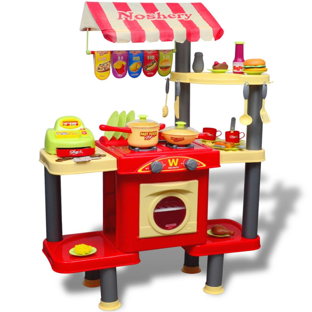 Vaša će djeca uživati satima u maštovitoj igri s ovom zabavnom kuhinjom