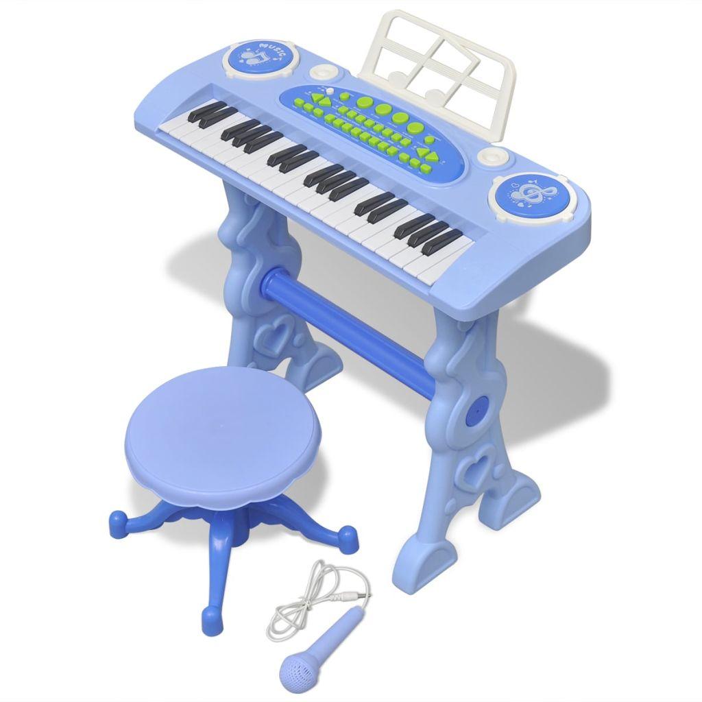 Ova slatka klavijatura je idealan način da uvedete svoje djete u svijet glazbe. Kroz veliki izbor ritmova i zvukova