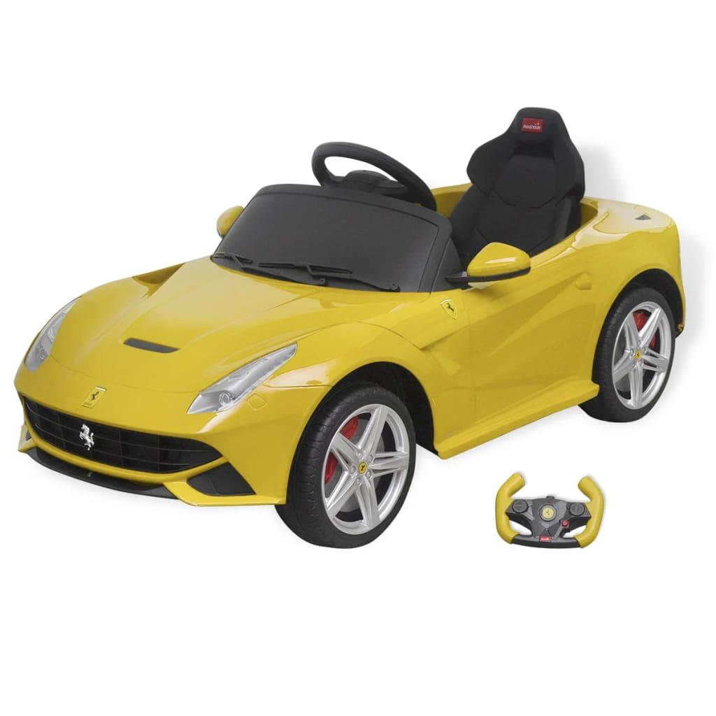 Ovaj Ferrari F12 autić kombinira dobar izgled i najnoviju tehnologiju s velikim stupnjem sigurnosti. Ovaj autić pomaže djeci u razvijanju prostorne svijesti
