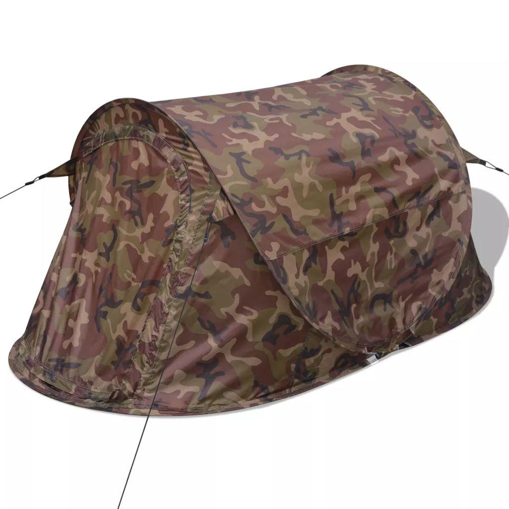 a onda se samo morate zavaliti i opustiti. Ulaz ima mrežu protiv komaraca za ljetne noći bez insekata. Ovaj šator za kampiranje za 2 osobe može se uredno upakirati u priloženu torbu za jednostavnu pohranu i transport. Imajte na umu da preporučujemo tretiranje šatora vodootpornim sprejem ako bude izložen jakoj kiši.