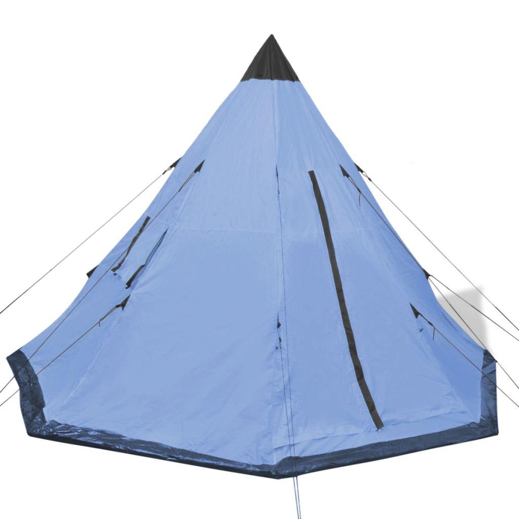 koji omogućuju bolju cirkulaciju i ljetne noći bez insekata. Šator za kampiranje za 4 osobe može se uredno spakirati u priloženu torbu za jednostavnu pohranu i transport. Ovaj šator je za one koji vole Tipi stil