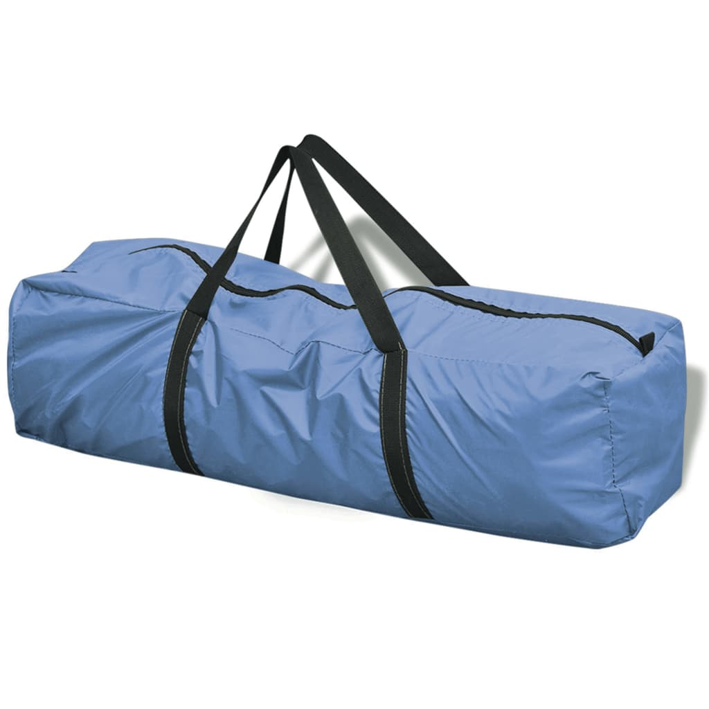 festivale ili odmaranje u kampu. Vodootporni šator i PE tlo osigurat će da vaš boravak bude suh i čist. Struktura okvira od staklenog vlakna dodaje mu čvrstoću i izdržljivost. Ovaj šator ima dva ulaza i mrežu za insekate