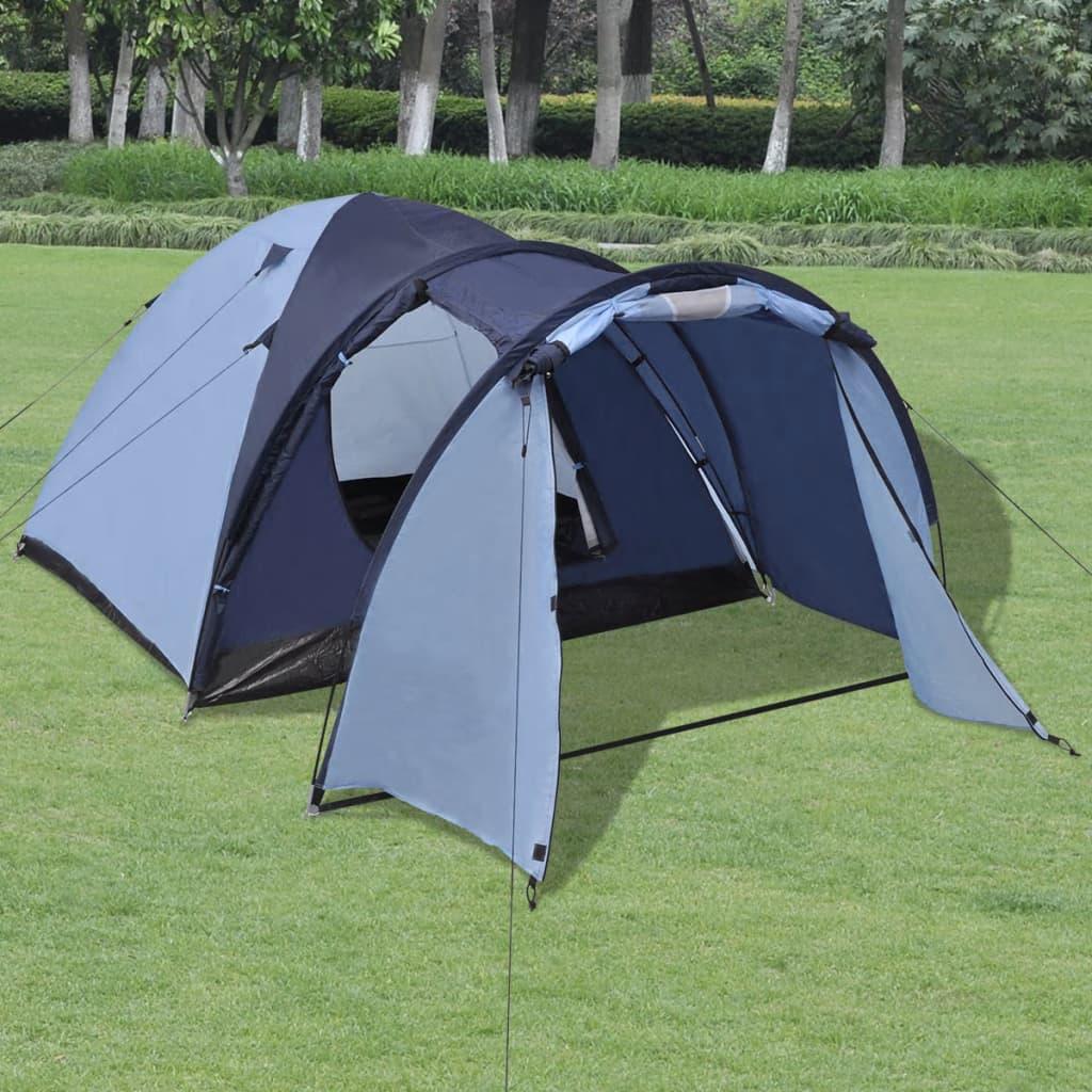 Ovaj šator savršen je za sve vaše pustolovine na kampiranju! Ima udobnu unutrašnjost i prikladan je za kampiranje na otvorenom