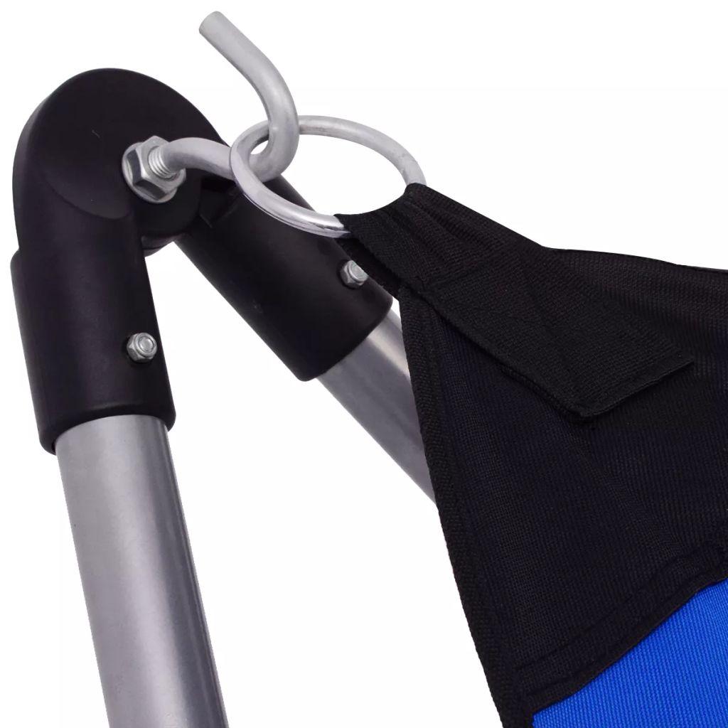 a platno je izrađeno od izdržljive 600D oksford tkanine. Mreža za ležanje je vrlo čvrsta i izdržljiva