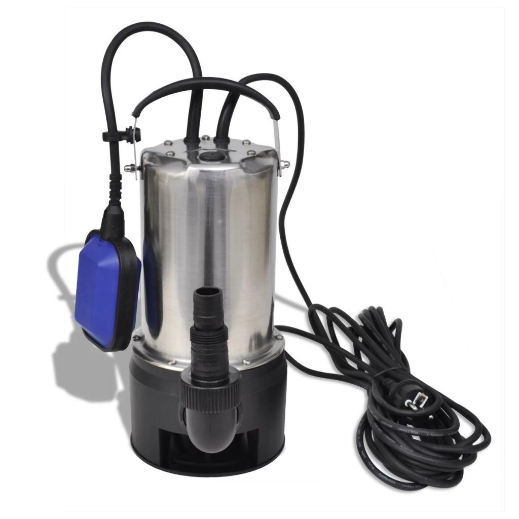 koja će zadovoljiti vaše potrebe. Pogodna je za primjenu za čistu i prljavu vodu. Ova potopna pumpa je jednostavna za rad uz visoko podesive plivajuće sklopke .Uz maksimalnu glavu od 8 m
