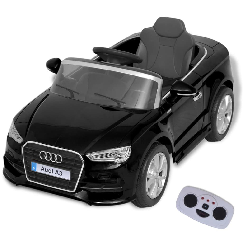 Ovaj autić 6 V Audi A3 kombinira divan izgled i najnoviju tehnologiju sa velikim stupnjem sigurnosti. Naprijed ima dva zupčanika