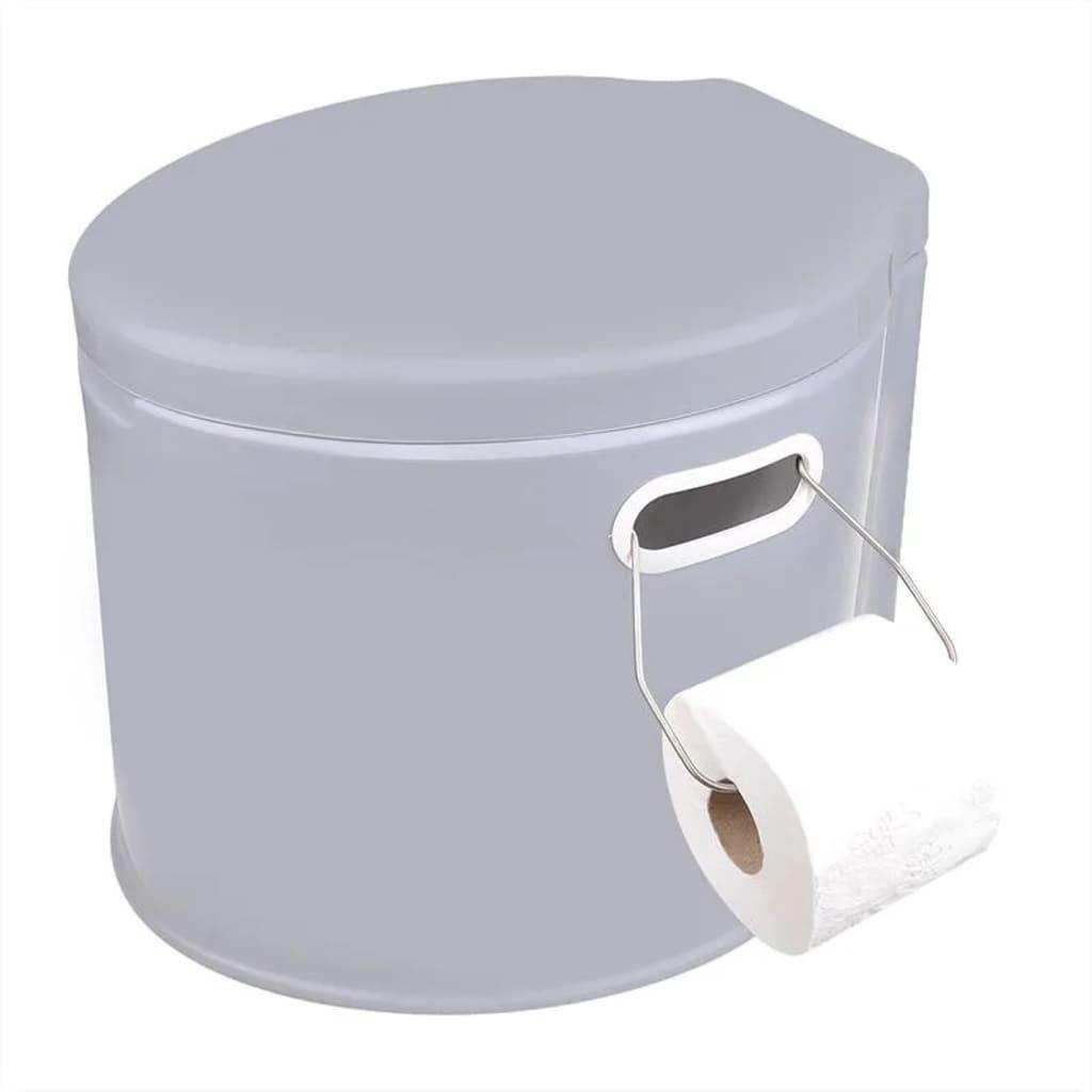 ovaj toalet bez vode s poklopcem ima spremnik za otpad kapaciteta 7 litara.