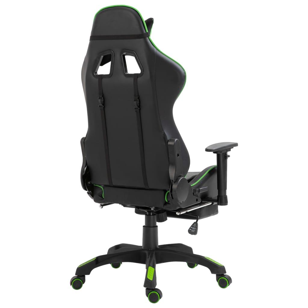 sjedalom i osloncem za noge omogućuje duge serije igranja ili rada. Dizajn s podesivom visinom omogućuje vam prilagođavanje visini radnog stola i postizanje veće udobnosti i zdravog poravnanja kralježnice. Stolicu možete pretvoriti u naslonjač povlačenjem naslona za leđa gore i dolje te blokiranjem u bilo kojem položaju za drijemanje u uredu ili intenzivno igranje. Osim toga