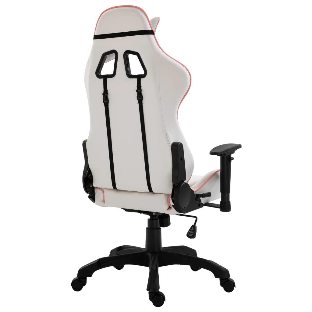 naslonima za ruke i sjedalom omogućuje duge serije igranja ili rada. Dizajn s podesivom visinom omogućuje vam prilagođavanje visini radnog stola i postizanje veće udobnosti i zdravog poravnanja kralježnice. Stolicu možete pretvoriti u naslonjač povlačenjem naslona za leđa gore i dolje te blokiranjem u bilo kojem položaju za drijemanje u uredu ili intenzivno igranje. Osim toga