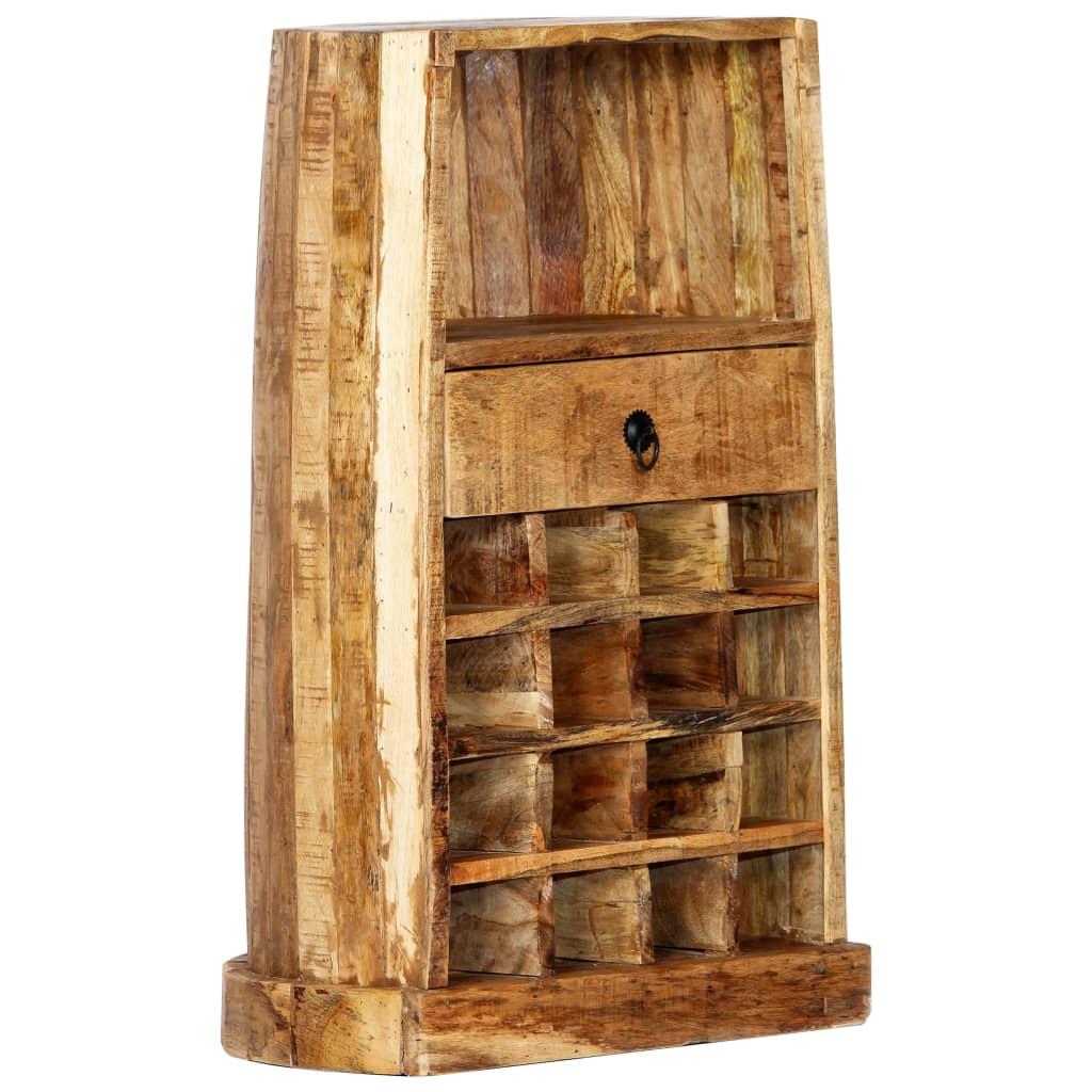 stalak za vino nudi dovoljno prostora za spremanje vaših boca vina i dodatnog pribora. Važna napomena: Boje i drveni godovi razlikuju se od primjerka do primjerka