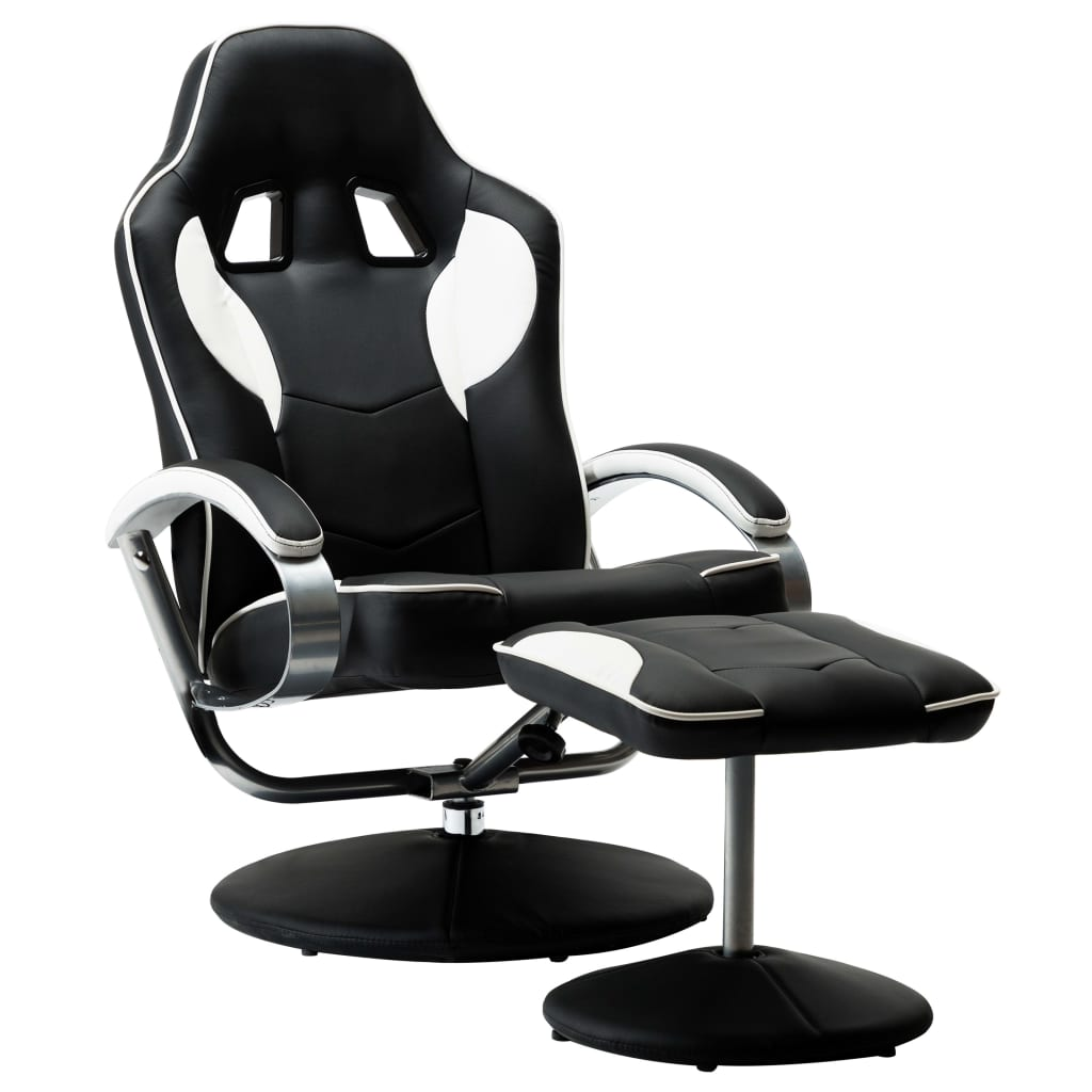 odlutajte i uživajte u predivnom vremenu za opuštanje na našem luksuznom i vrlo udobnom naslonjaču! Ova osobita i luksuzna igraća stolica sa samostojećim osloncem za noge bit će sjajan dodatak vašem domu i uredu kad igrate računalne igrice