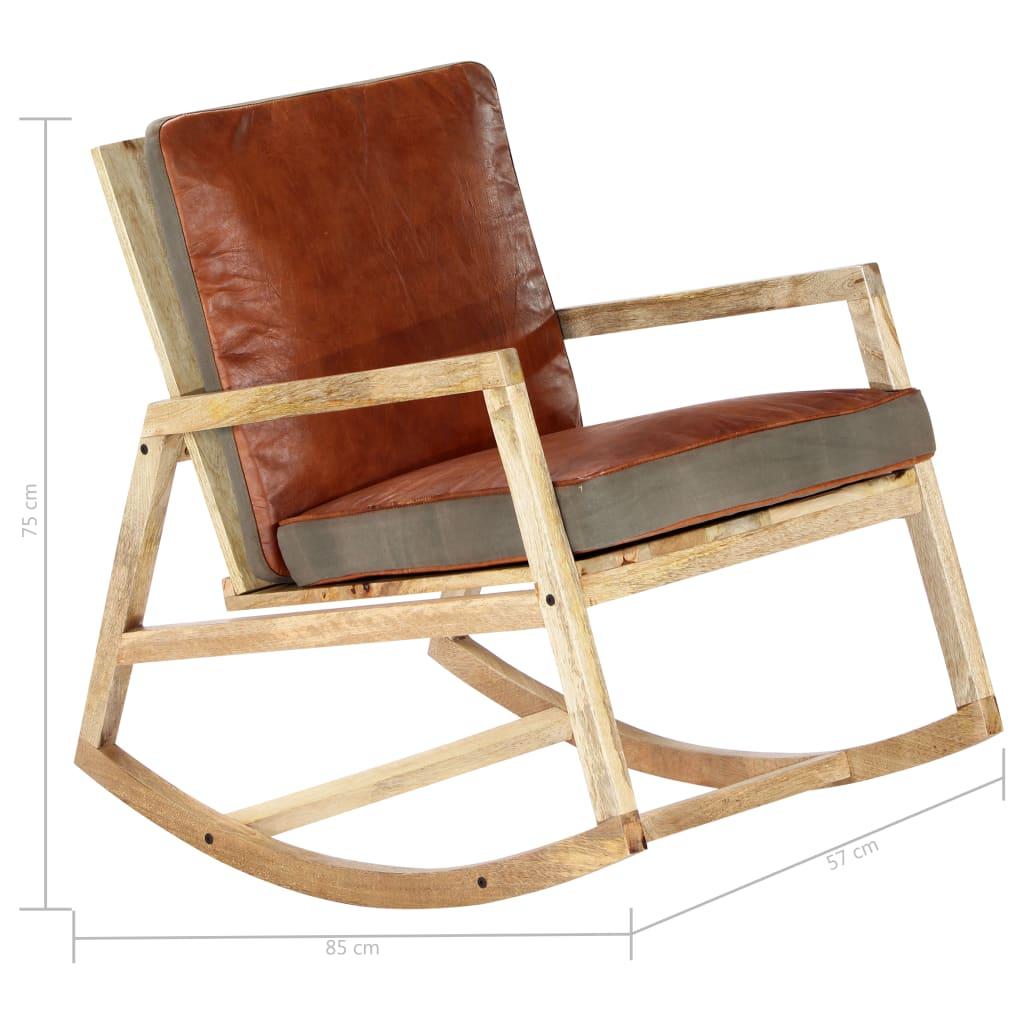 zbog čega se fotelja ističe svojom izdržljivošću i stabilnošću. Možete staviti stolicu za ljuljanje u dnevni boravak ili spavaću sobu