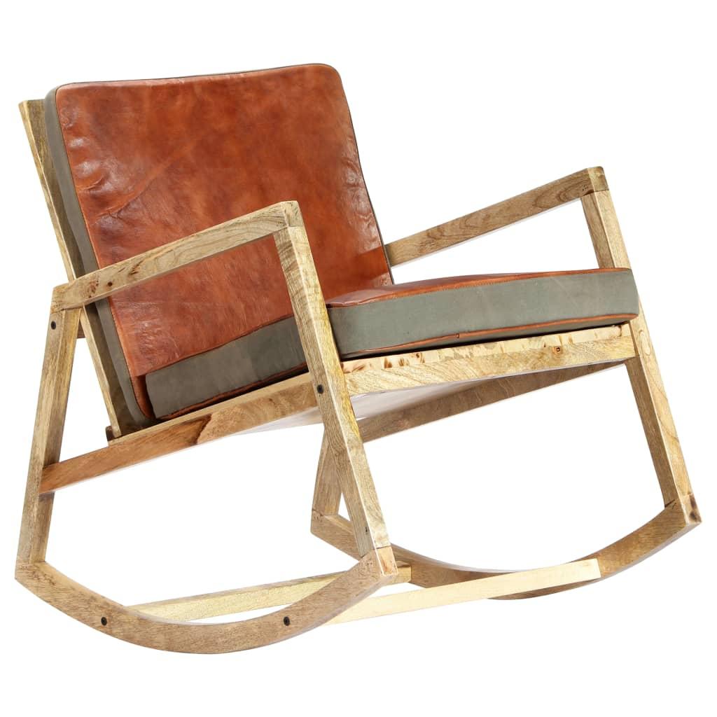 što čini svaku od naših stolica za ljuljanje jedinstvenom; isporuka je nasumična.