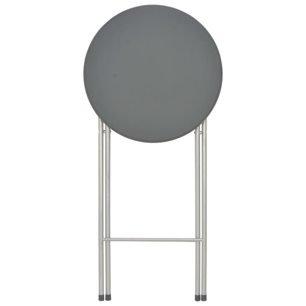 pubovima ili restoranima. Ovaj stol za pub kompaktne konstrukcije može se sklopiti i tako štedi prostor. Naš barski stol ima izdržljivu stolnu ploču od MDF-a i snažne čelične noge. Stolna ploča od MDF-a jednostavno se čisti