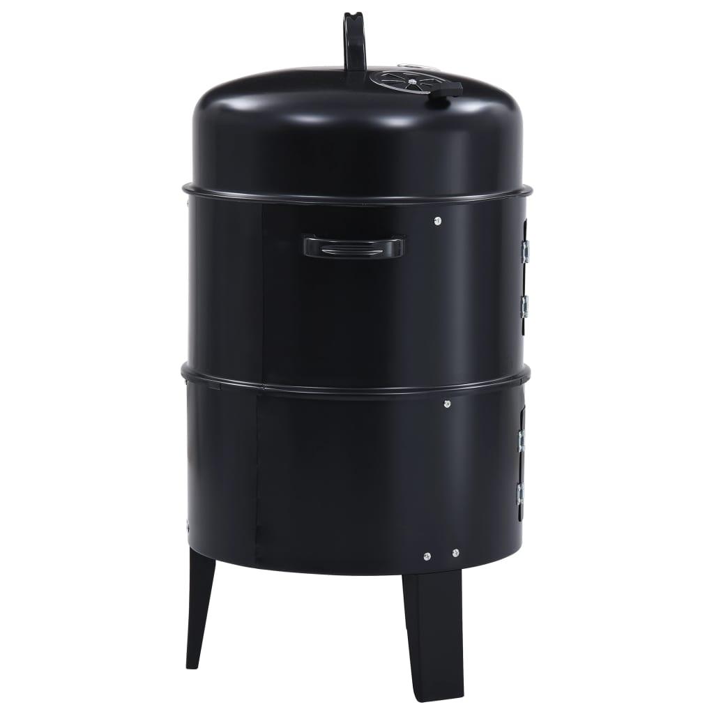odreske i tako dalje. Uključena zdjela za vodu pomaže održavati temperaturu stalnom za savršeno dimljenje ili se može upotrebljavati za parenje povrća. Termostat na poklopcu prikazuje vam temperaturu