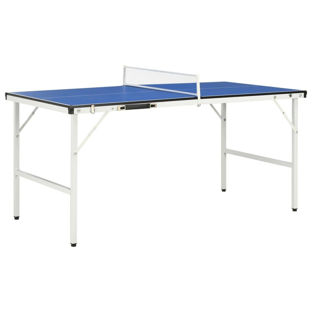 Ovaj mobilni teniski stol idealan je za sve ljubitelje stolnog tenisa koji nemaju puno prostora i može se savršeno uklopiti u gotovo svaku prostoriju u kući ili čak na otvorenom! Pruža sjajan način za zabavu vašoj obitelji i prijateljima u slobodno vrijeme. Napravljen od visokokvalitetnog MDF-a s čeličnom potporom i nogama