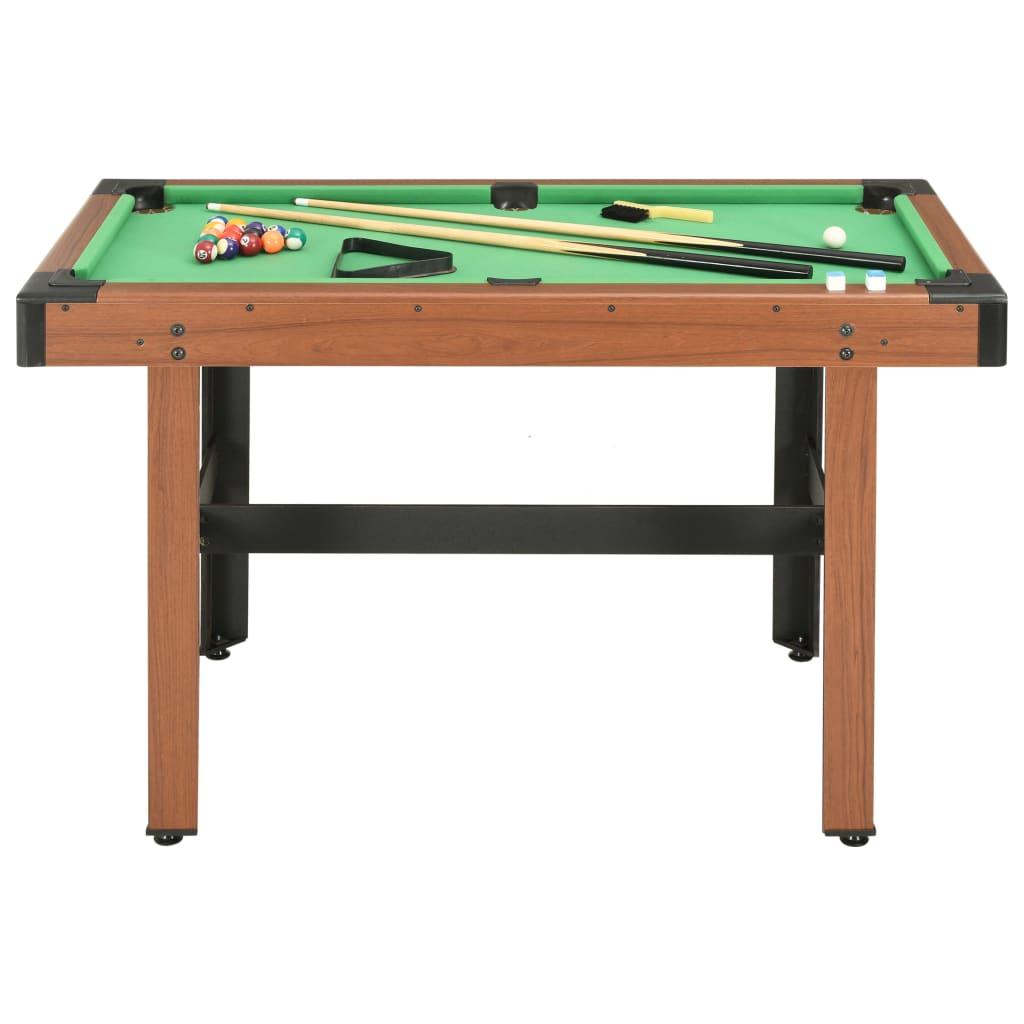 naš stol za biljar dužine 122 cm bit će odlično središte svake igraonice