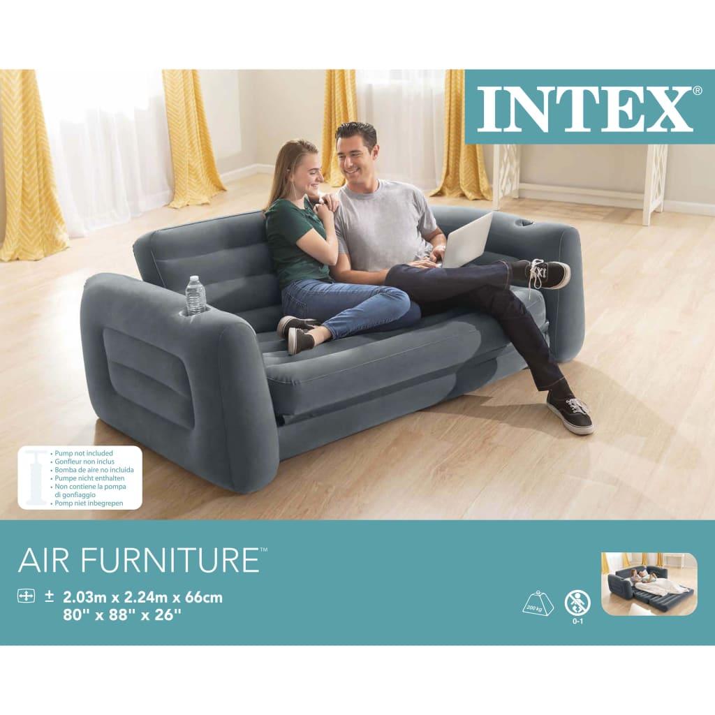 gostinjske sobe ili kampove. Kauč se začas može pretvoriti u bračni krevet. Napravljen je od mekanog materijala koji je nježan za kožu