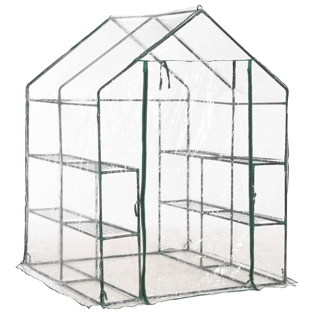 ovaj staklenik pruža dovoljno prostora za vaše biljke koje klijaju