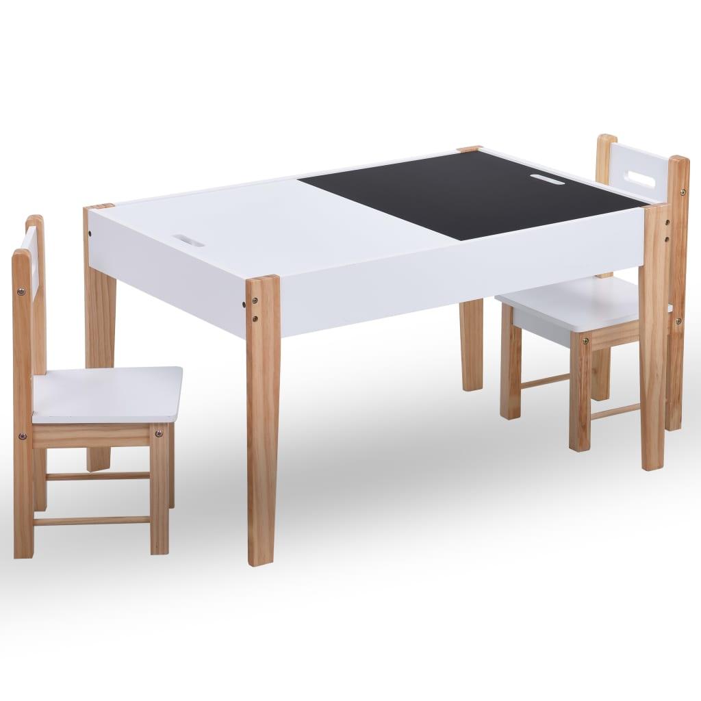 ovaj set stola i dviju stolica sigurno će biti izvrsno mjesto na kojem dvoje djece mogu igrati igrice