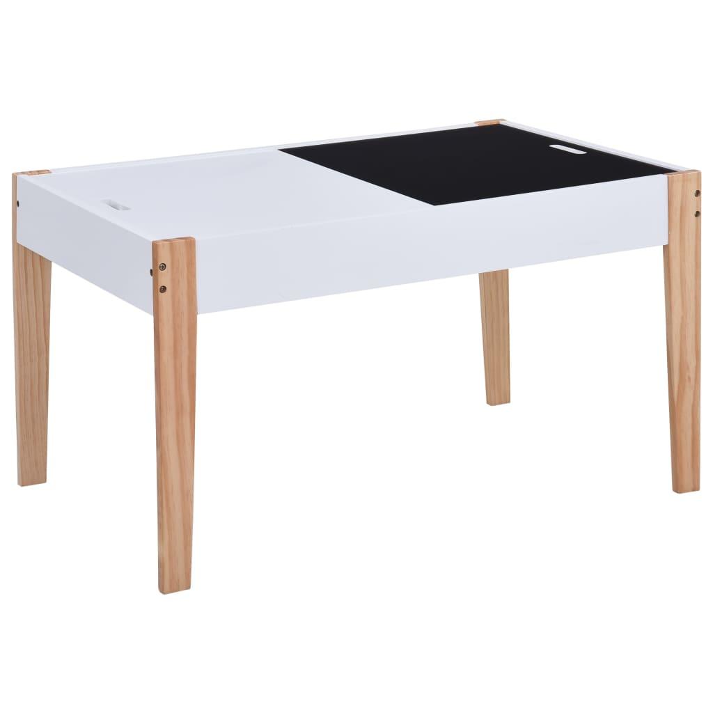 ispod stola nalazi se dodatni prostor za pohranu. S jednostavnim izgledom i prikladnom veličinom za djecu